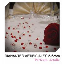 1000 Diamantes De Acrilico 6.5 Mm Para Decoración De Mesas