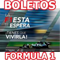 Boletos Formula 1 F1 Gran Premio De Mexico Foro Sol Sabado