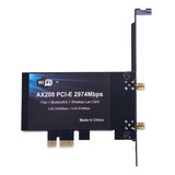 3000mbps Wifi 6 Adapter Wireless Pcie Card For Intel Ax200