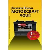 Bateria Acumulador Motorcraft Para Todo Tipo De Auto