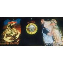 Playeras Guns & Roses,bostik Scorpions,lacrimosa,mago De Oz