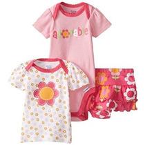 Gerber De Los Bebés De 3 Piezas Body Camisa Y Panty