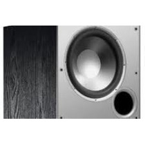 Bajo O Subwoofer Polk Audio Psw10 Monitor Series!