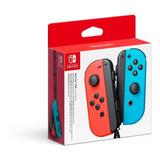 Control Joy Con Izquierdo-derecho Switch Neon Rojo/azul