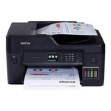 Impresora A Color Multifunción Brother Mfc-t4 Series Mfc-t4500dw Con Wifi 110v Negra