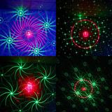 Laser Proyector 36 Figuras Led Rojo Verde Azul Escenario Dj