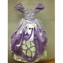 Vestido Princesa Sofi, Disfraz Para Niñas