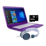 Laptop Hp Stream 14 Intel Dual Core Ssd 32gb Ram 4gb + Kit