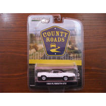 Greenlight County Roads Serie 9 1969 Plymouth Gtx