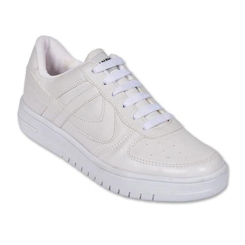 c94e681c94 Calzado Juvenil Niño Tenis Casual Panam Tipo Piel Blanco en venta en ...