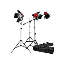 Set Barndoor Iluminacion Luz Continua Fotografia Video 2400w