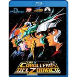 Caballeros Del Zodiaco Sagas Completas + Películas Bluray Hd