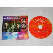 Estopa - Me Falta El Aliento Cd Promo Bmg Ariola 2001