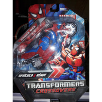 Transformers Crossovers Spider-man Vehiculo A Heroe, Moto