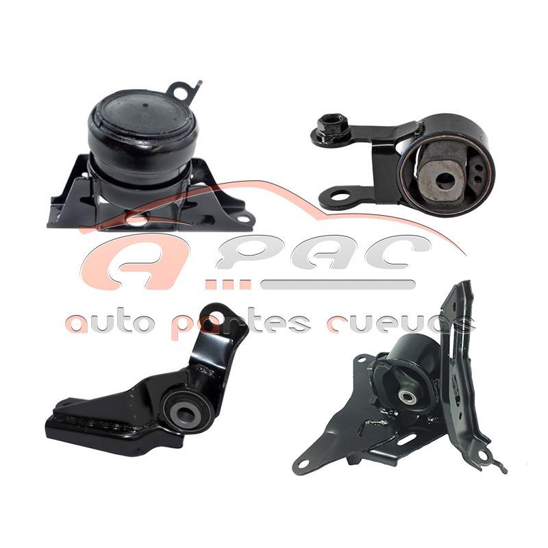 2011 Toyota Yaris Suspension: Kit 4 Soportes Motor/trans Toyota Yaris 2006-2011 1.5 Aut