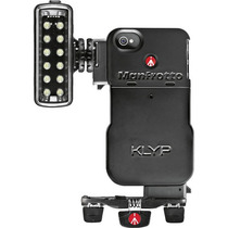 Accesorio Klyp Case Iphone 4/4s+ Led Light+ Tripod Manfrotto