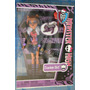 Claudeen Wolf Con Ropa Chic Mascota Y Diario Monster High