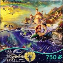 Ceaco Thomas Kinkade El Disney Dreams Collection La Sirenita