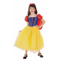 Disfraz Princesa Tipo Blanca Nieves Nuevo Talla 2-4 Niña