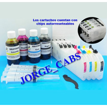 Cartuchos Rellenables Reseteables Brother Lc101 ¿ Lc103