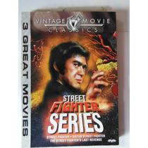 Set 3 Peliculas Street Fighter Series Trilogia Kung Fu