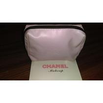 Cosmetiquera Chanel De 15x 13 Cms Rosa.