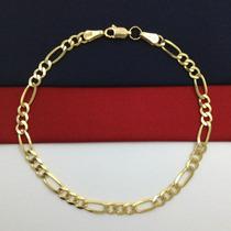 78fe367c8510 Pulsera Esclava Hombre Oro 14k Regalo Moda Elegancia Gbm en venta en ...