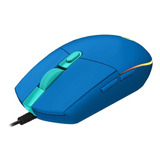 Mouse Logitech G203 Lightsync Blue Optico Usb 910-005795