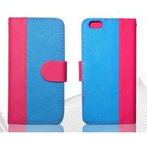 Funda Cartera Fiusha Iphone 6 - -1x$190 - 2x$350+envio
