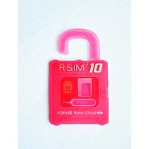 Rsim Sim 10 Gevey Ios 8 Iphone 6, 6+,5, 5c, 5s,5,4s Original