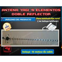 Antena Yagi 41 Elem Doble Banda 35db Doble Reflector.