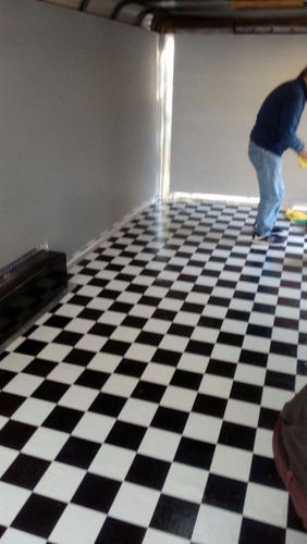Piso vinilico en rollo linolium vinilico instalado 120 - Instalacion piso vinilico en rollo ...