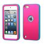 Funda Protector Mixto Apple Ipod Touch 5g Rosa / Azul Antide