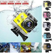 Cámara Fotográfica Sport Contra Agua Con Accesorios