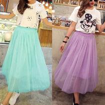 Faldas De Tul Moda Japonesa Importada