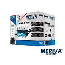 Kit Cctv Meriva Mhd-840k 4cam Hd720p 8canales Cdiscoduro 1tb