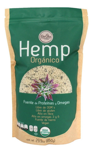 Hemp Orgánico Ecopan 850g