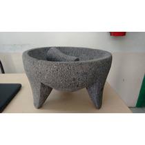 Molcajete De Piedra Basalto, La Original Volcanica