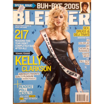 Kelly Clarkson Y Lo Mejor Del 2005 Blender Importada