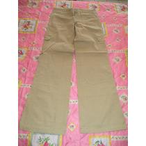 Pantalon Tipo Cargo Camel Delias Para Dama Talla 32