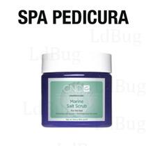 Exfoliante De Sal Marina Mineral Cnd Shellac Profesional