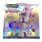 Zoomer Unicornio Encantado Con Accesorios Spin Master