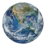Rompecabezas Circular Con Diseño De Tierra, 1000 Piezas