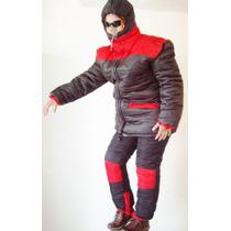 Combo Nieve Parka Chamarra Pantalon Esqui Ropa Termica Botas