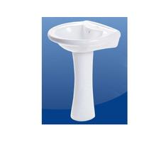 Lavabo Axcent Ceramica Pedestal Rodano 59x50x83cm
