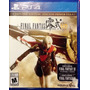 Ps4 - Final Fantasy Type 0 - Hd