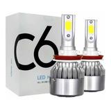 Kit Luces Led Auto C6 H1 H7 H11 H3 9004 9005 9006 H4 H13 H16