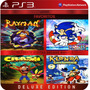 Crash + Sonic + Klonoa + Rayman Ps3 Licencia Digital