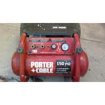 Compresor Porter Cable Portátil Uso Rudo