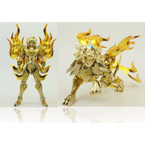 Leo Aiolia Metal Club Myth Cloth Soul Of God Gold 2armaduras
